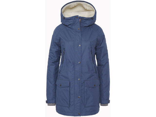 Varg Åre Eco Parka Jacket Women, bering sea blue